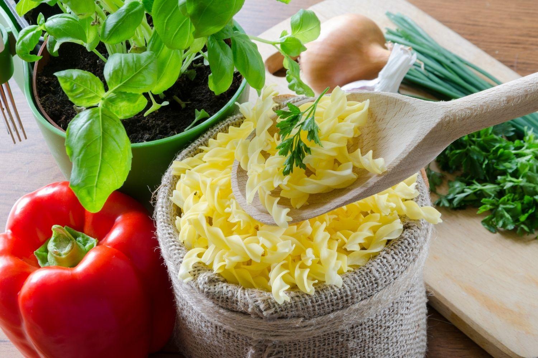 Pasta Vegetariana senza Glutine